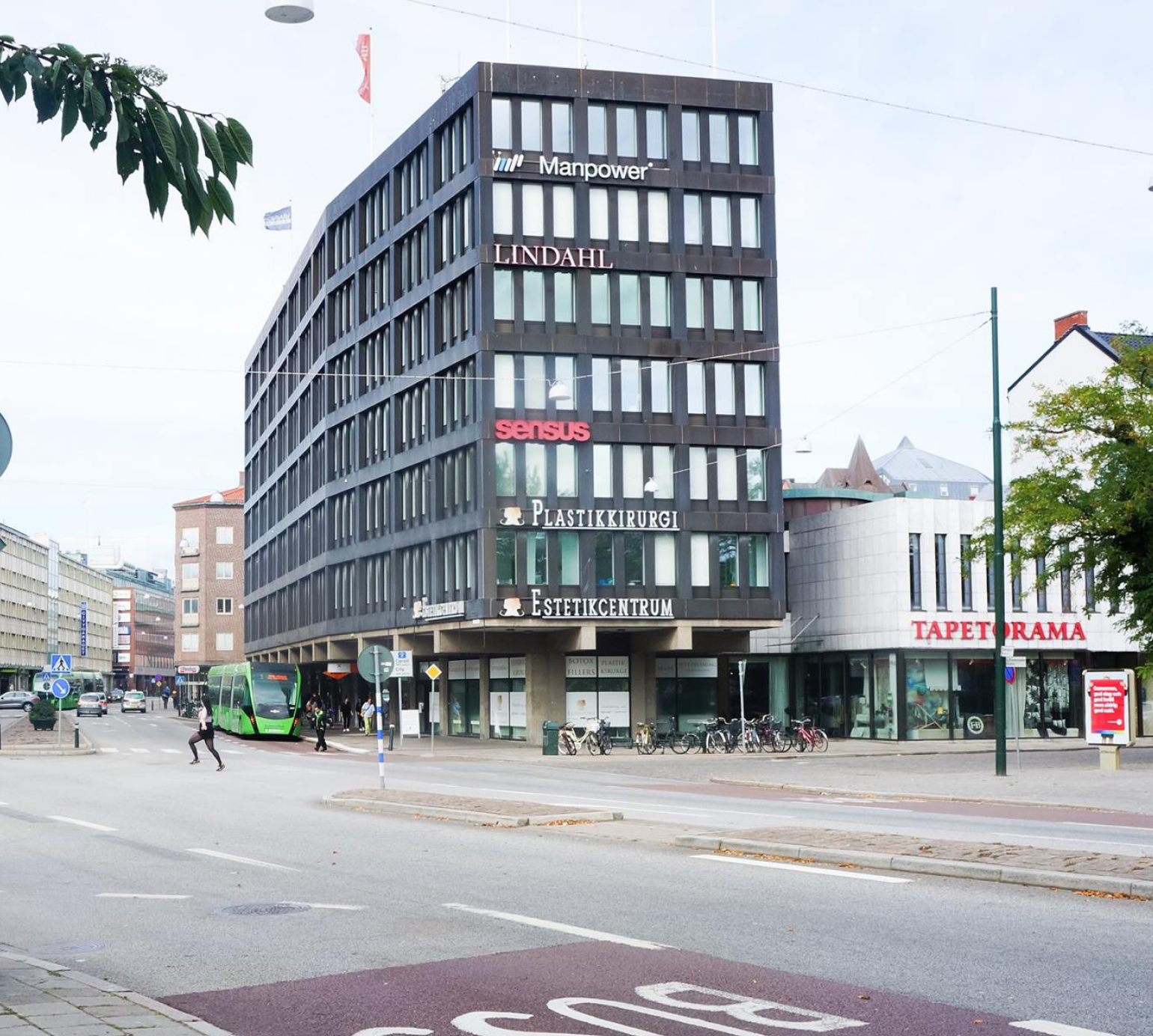 Estetikcentrum is located in central Malmö